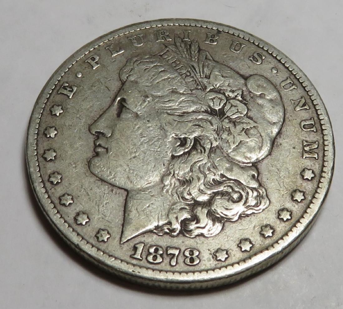 1878 Carson City Key Date Morgan Silver Dollar