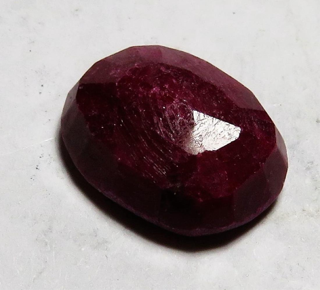 7.5 ct. Natural Red Ruby Gemstone - 2
