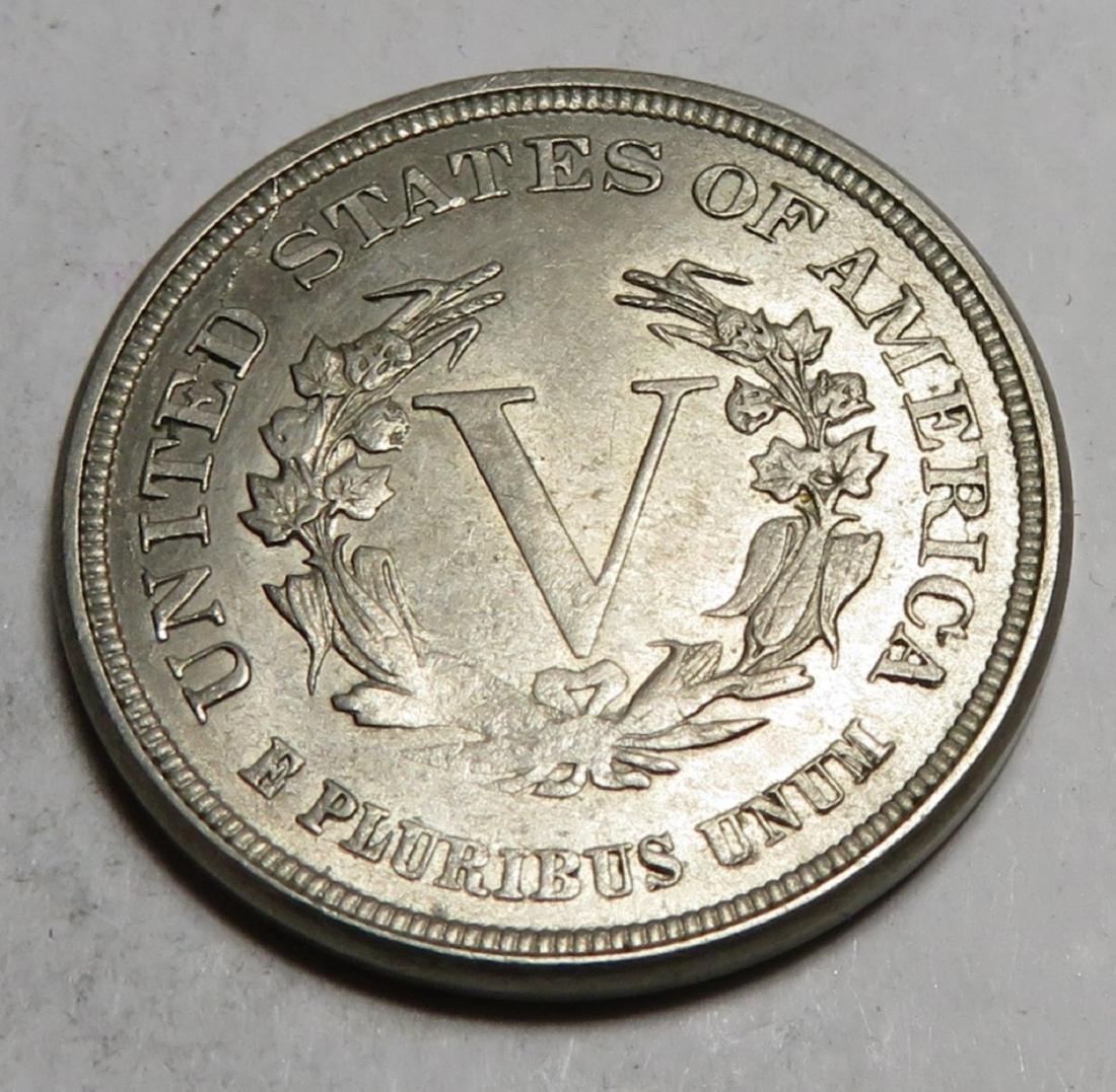 1883 V Nickel NO CENTS Variety - 2