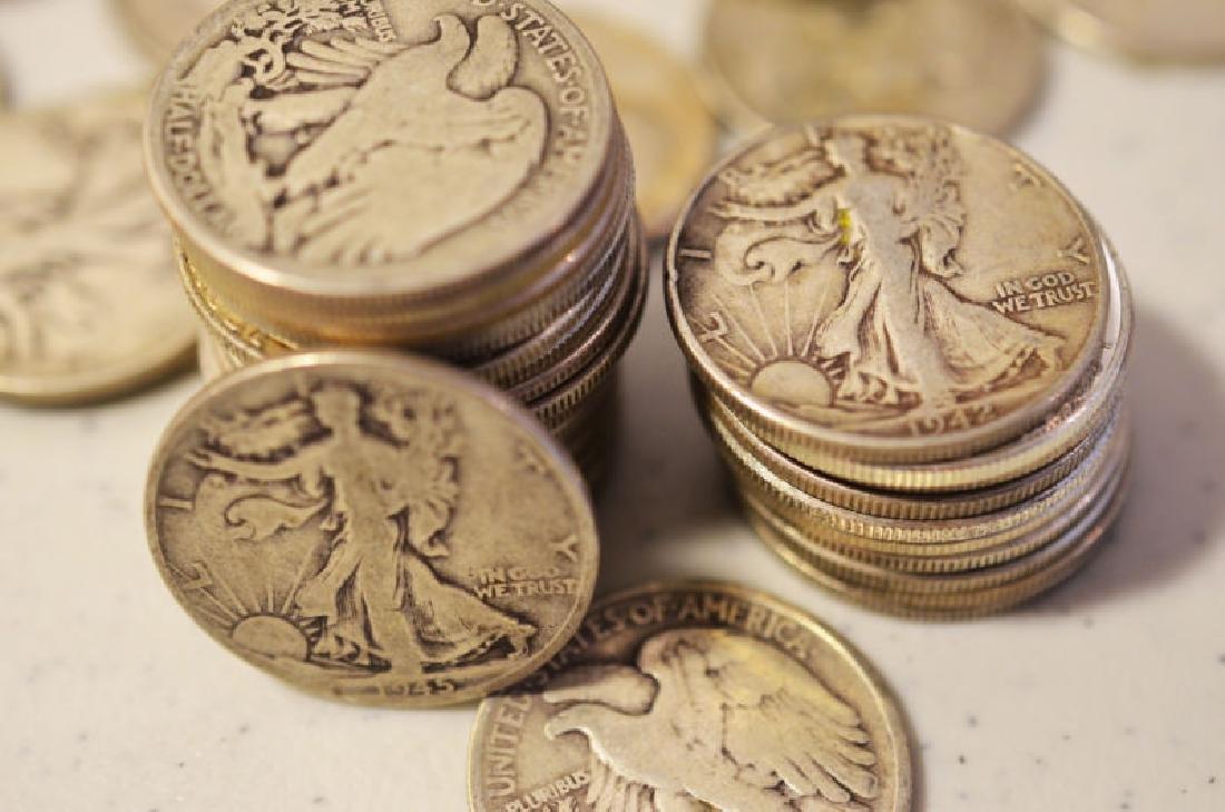 (20) Walking Liberty Half Dollars -90% Silver - 2