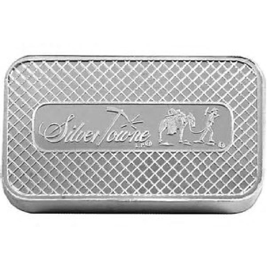 5 oz. Prospector Silver Bar - .999 pure - 2