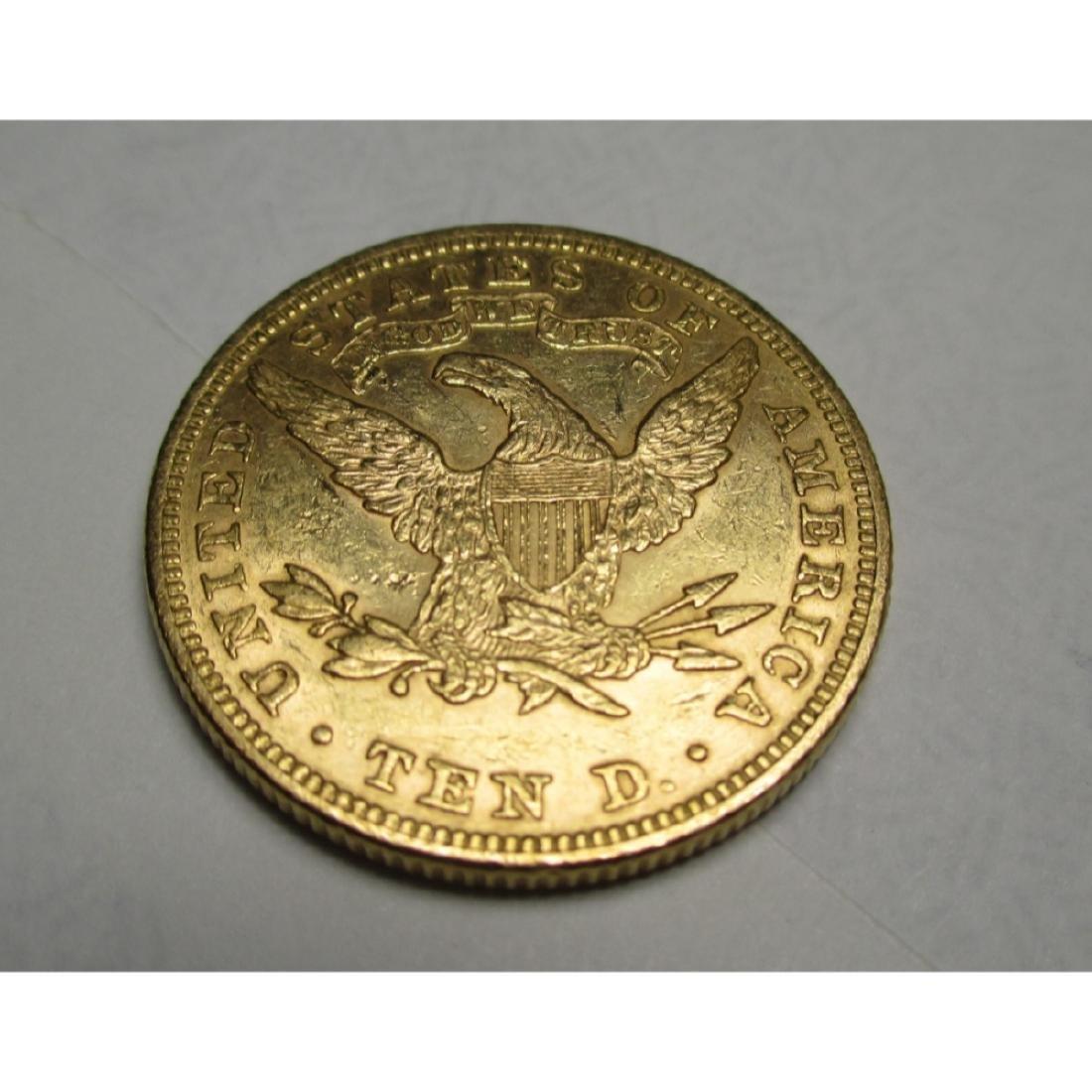 1881 P $10 TEN Gold Liberty Eagle - 2