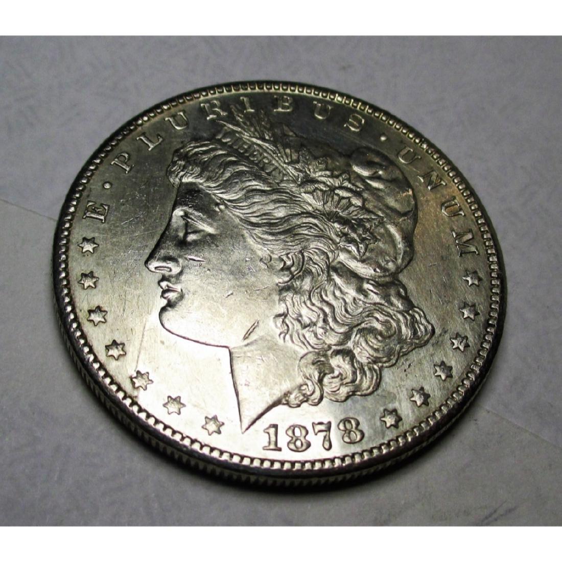 1878 S BU PL Morgan Silver Dollar