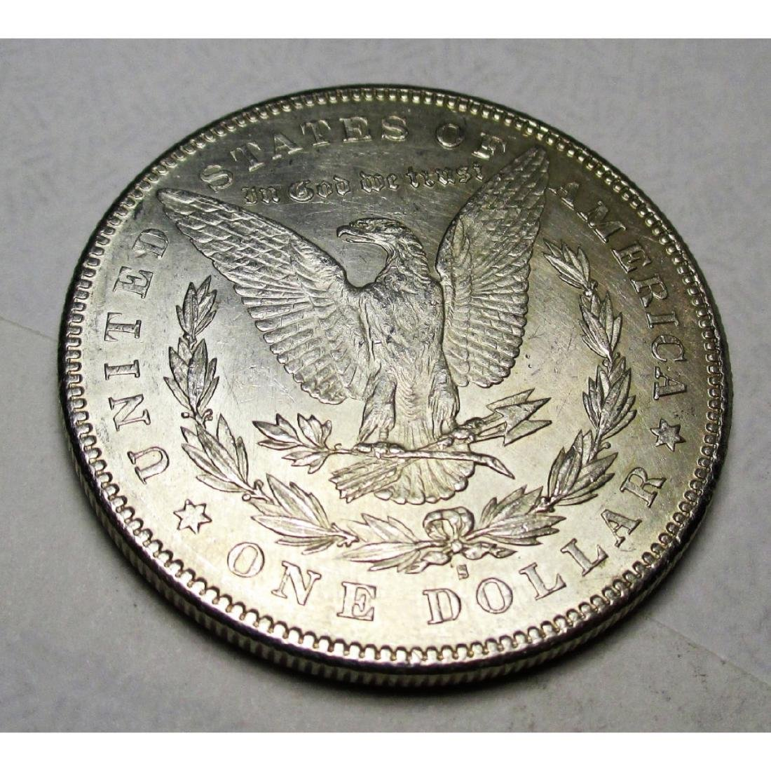 1878 S BU PL Morgan Silver Dollar - 2