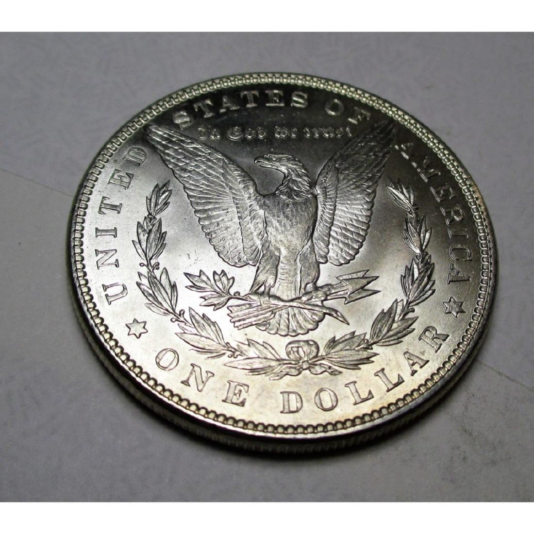 1887 P CH BU Morgan Silver Dollar - 2