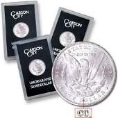 1882-83-84 CC GSA Morgan Silver Dollar TRIO
