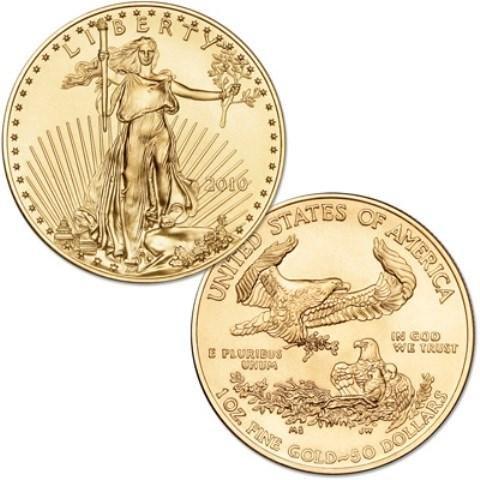 1 oz Random Date US Gold Eagle