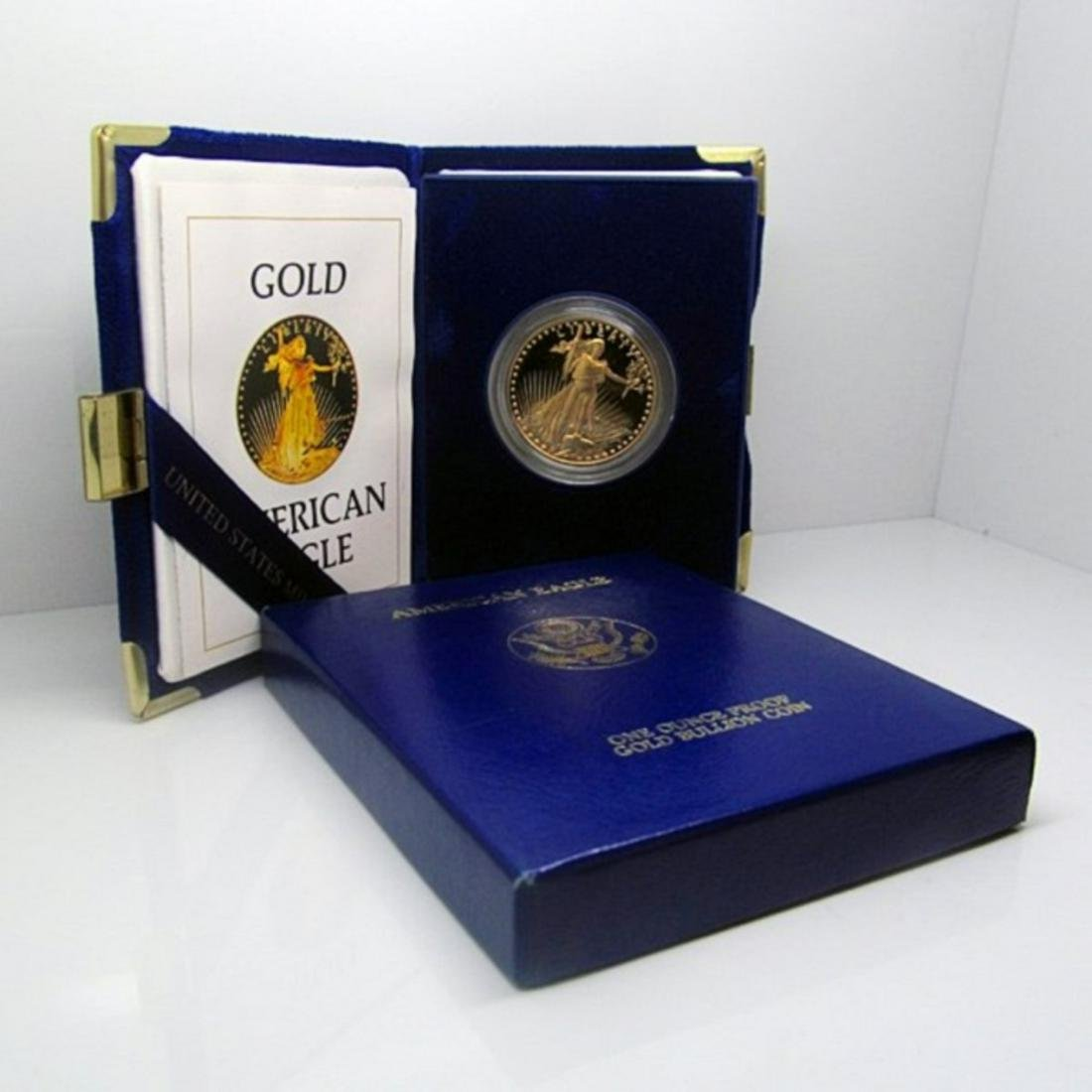 1 oz. Random Date Gold Eagle Proof