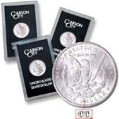 1882 -83-84 CC GSA Morgan Silver Dollars