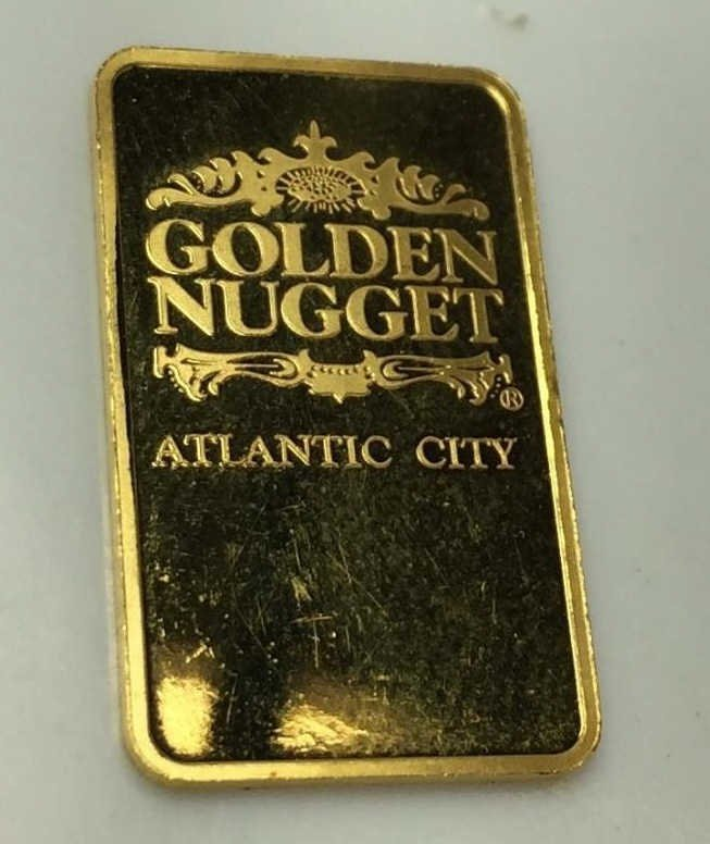 5 Gram Golden Nugget Pure Gold Bar