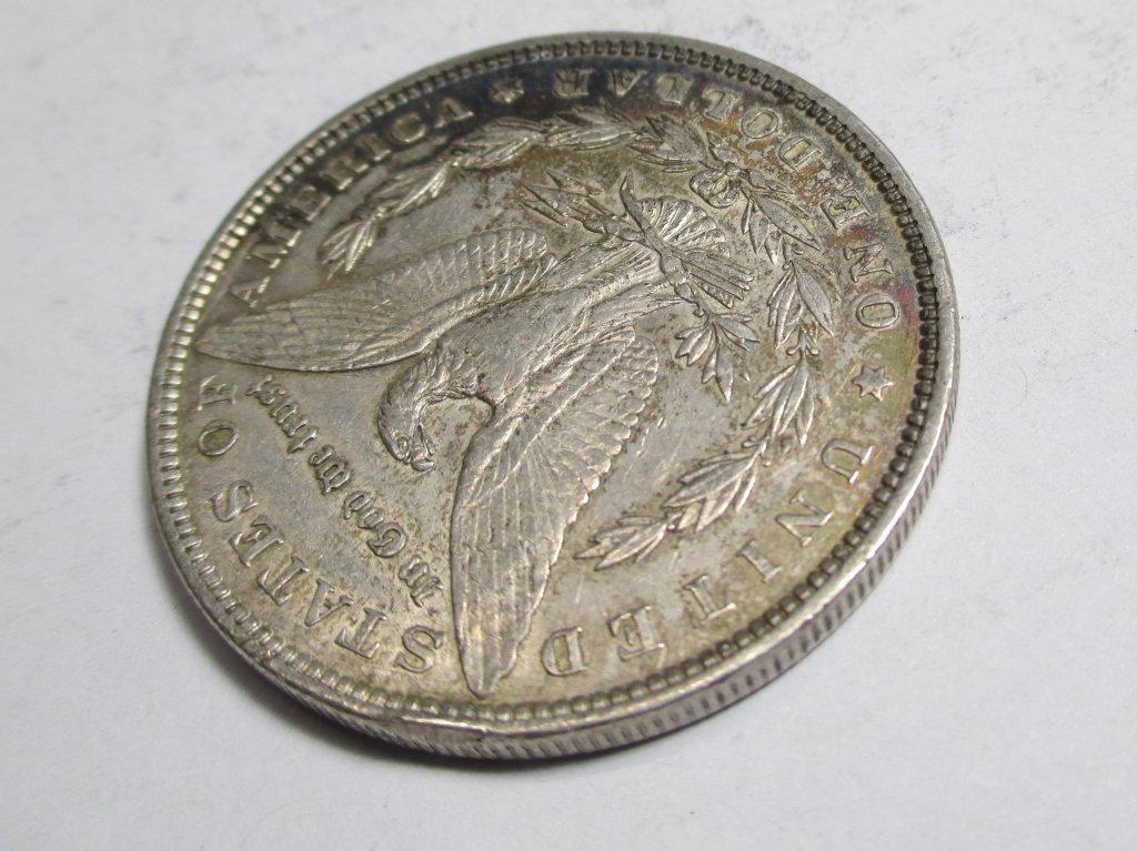 1896 P Toned  Morgan Dollar - 3