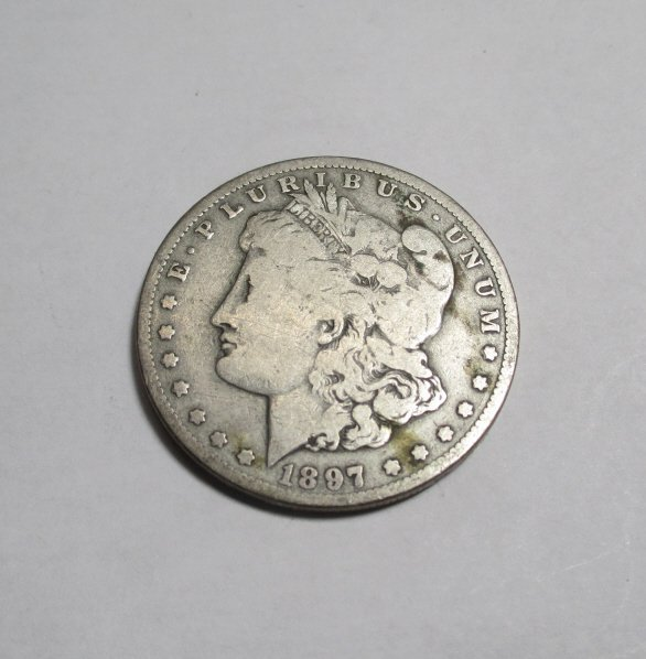 1897 O Better Date Morgan Silver Dollar