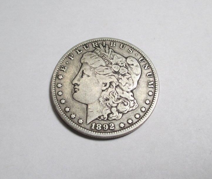 1892 O Key Date Morgan Silver Dollar