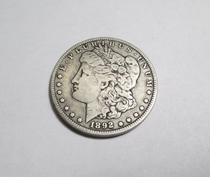 1892 O Key Date Morgan Silver Dollar