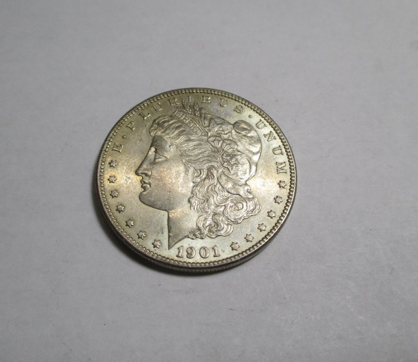 1901 O Better Date Original Uncirculated Morgan $1