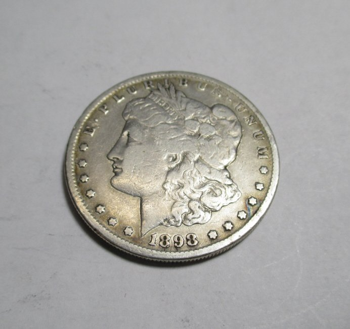1898 s Key Date Morgan Silver Dollar