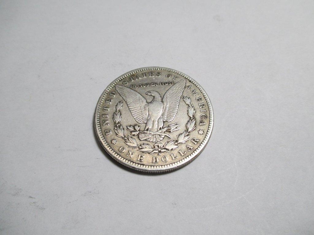 1898 s Key Date Morgan Silver Dollar - 2
