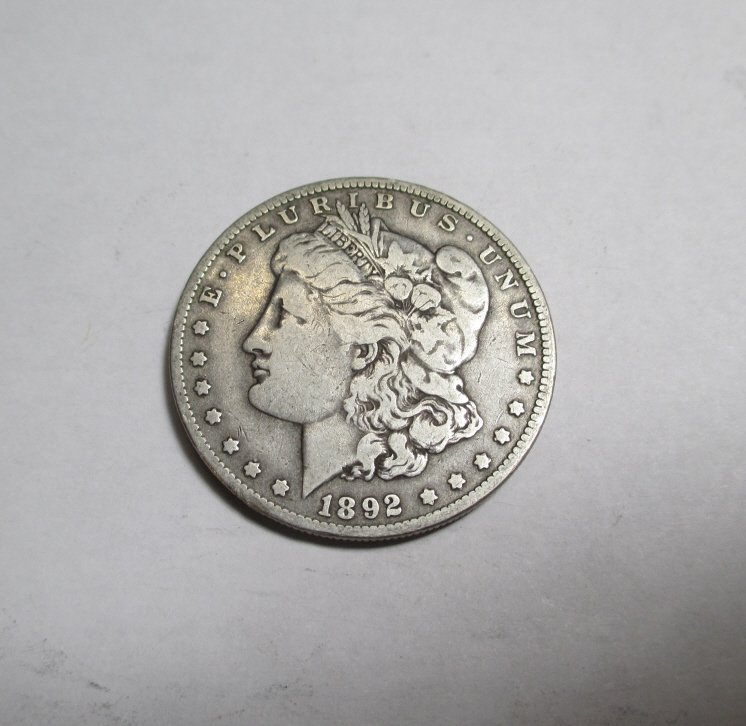 Key Date 1892 O Morgan Silver Dollar