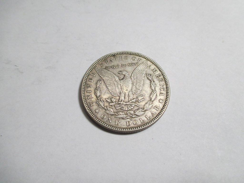 Better Date 1901 O AU Grade Morgan Dollar - 2
