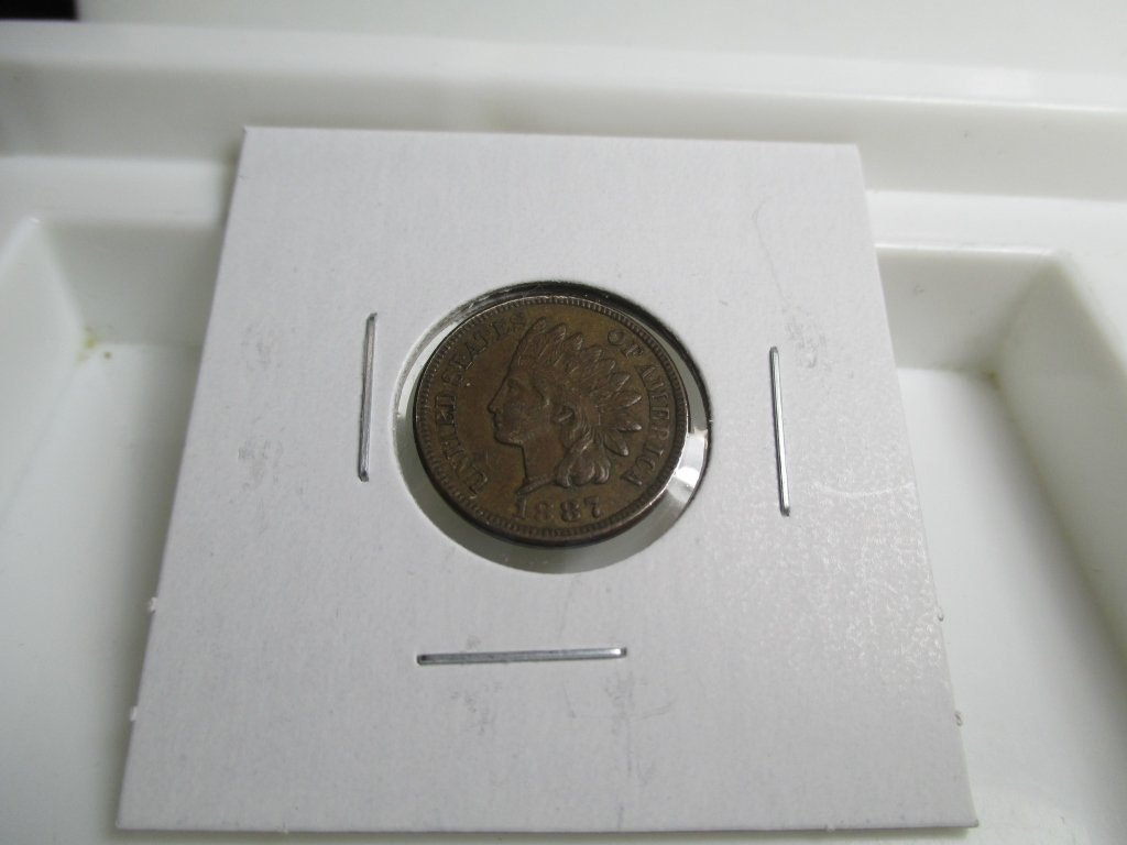 1887 Indian Head Cent- Better Date