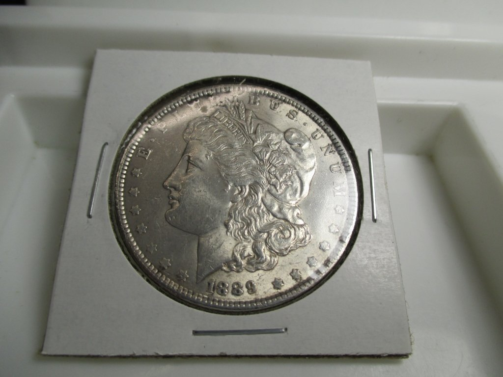 1889 P High Grade Morgan Silver Dollar