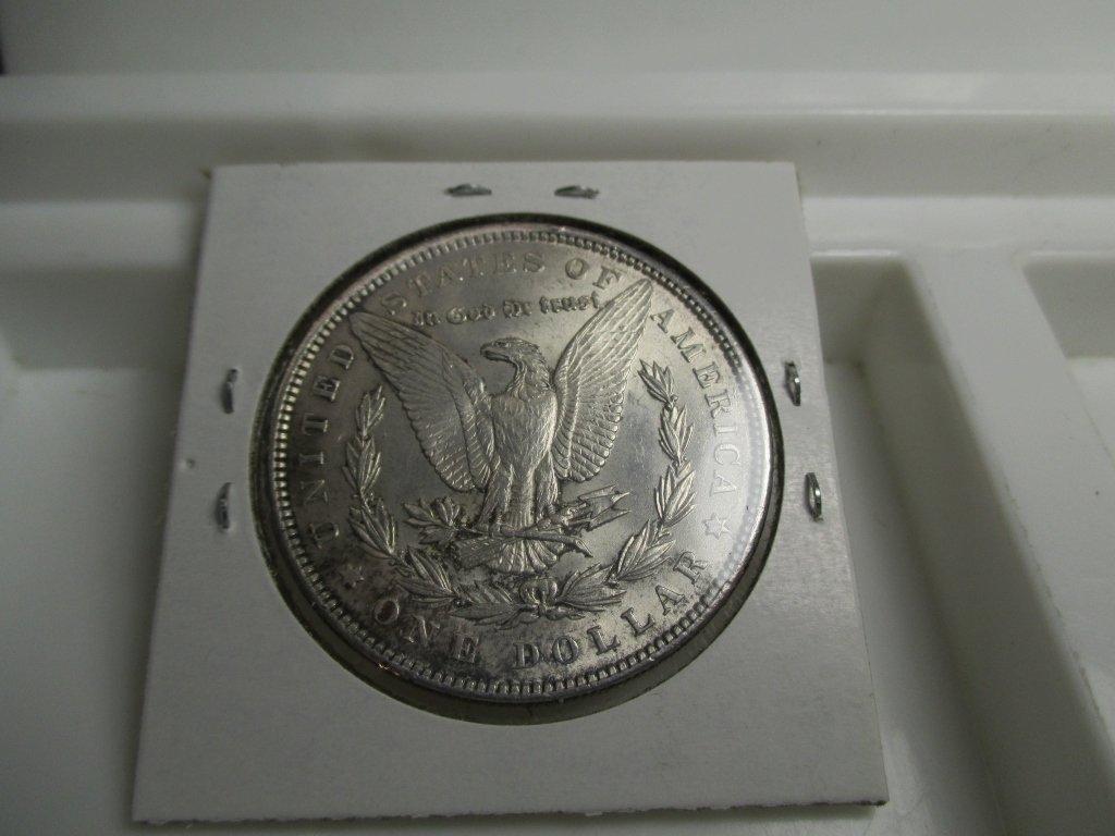 1889 P High Grade Morgan Silver Dollar - 2