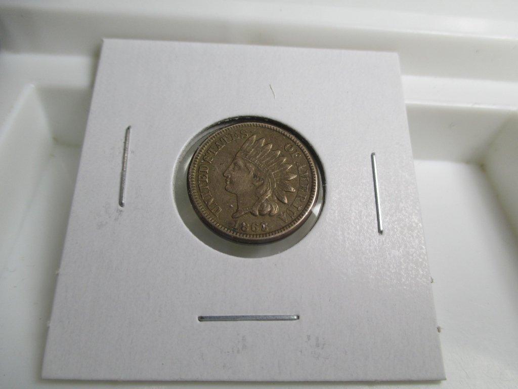 1863 Civil War Era - Indian Head Cent