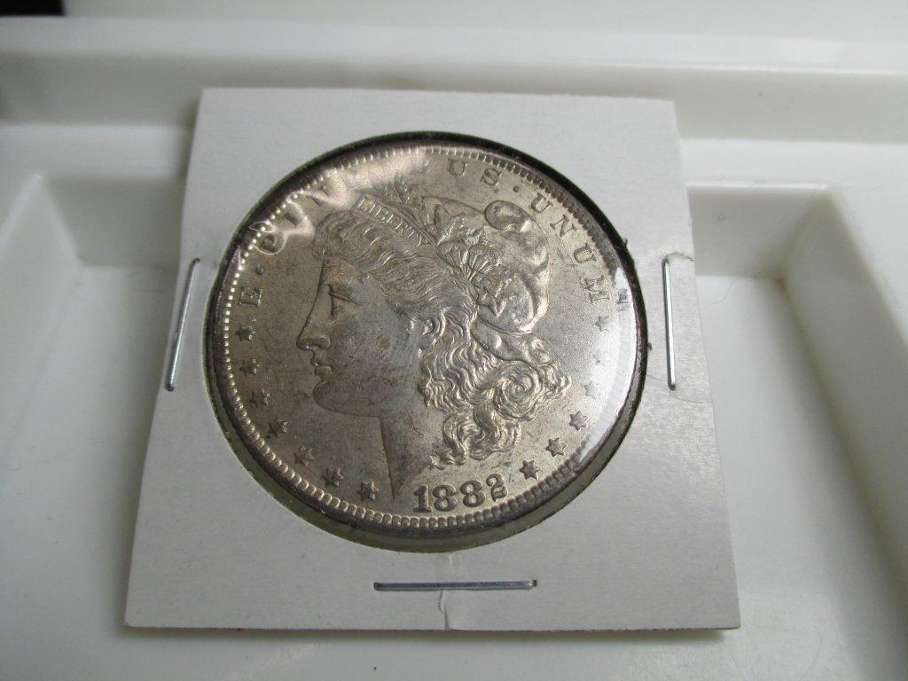 1882 o High Grade Morgan Silver Dollar