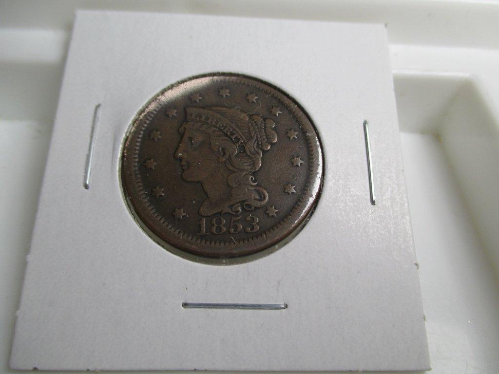 1853 Large Cent- Copper