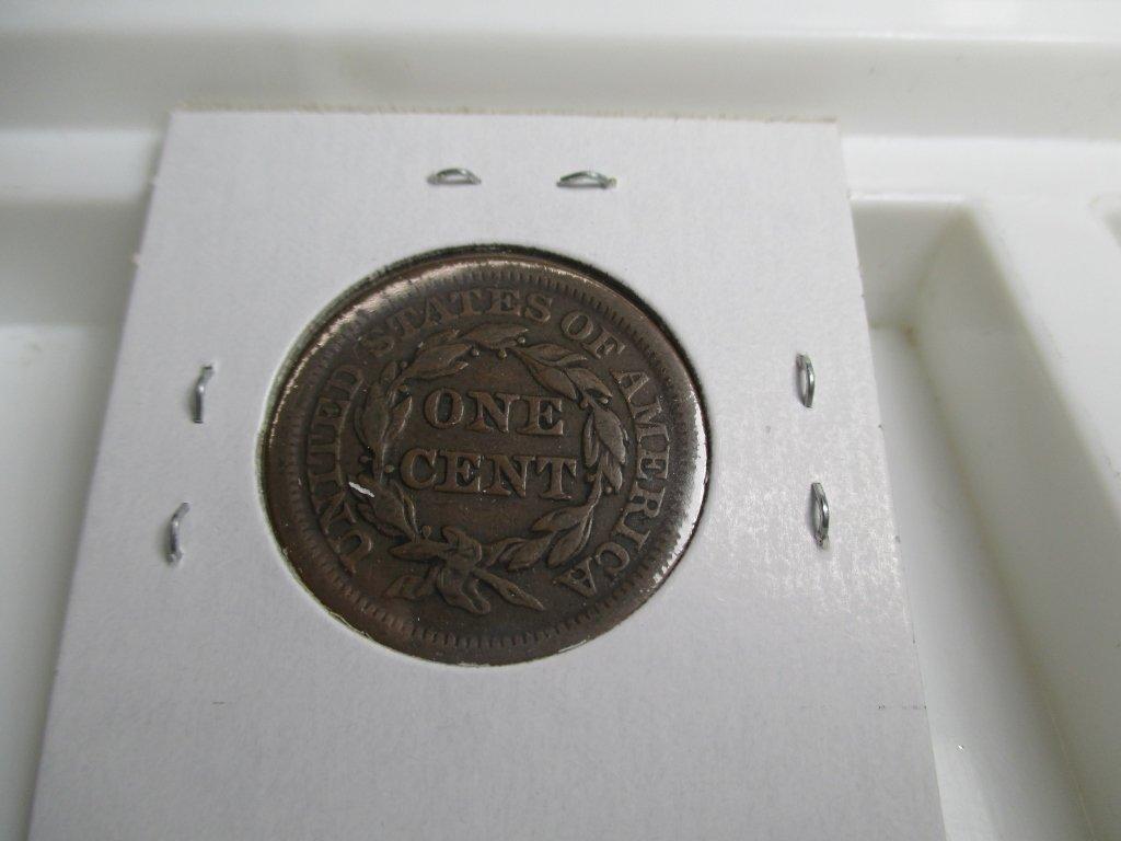 1853 Large Cent- Copper - 2