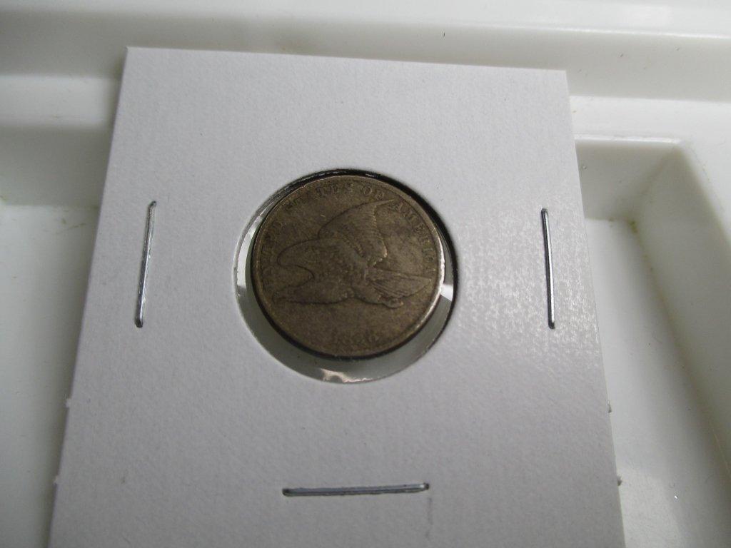1858 Flying Eagle Cent -