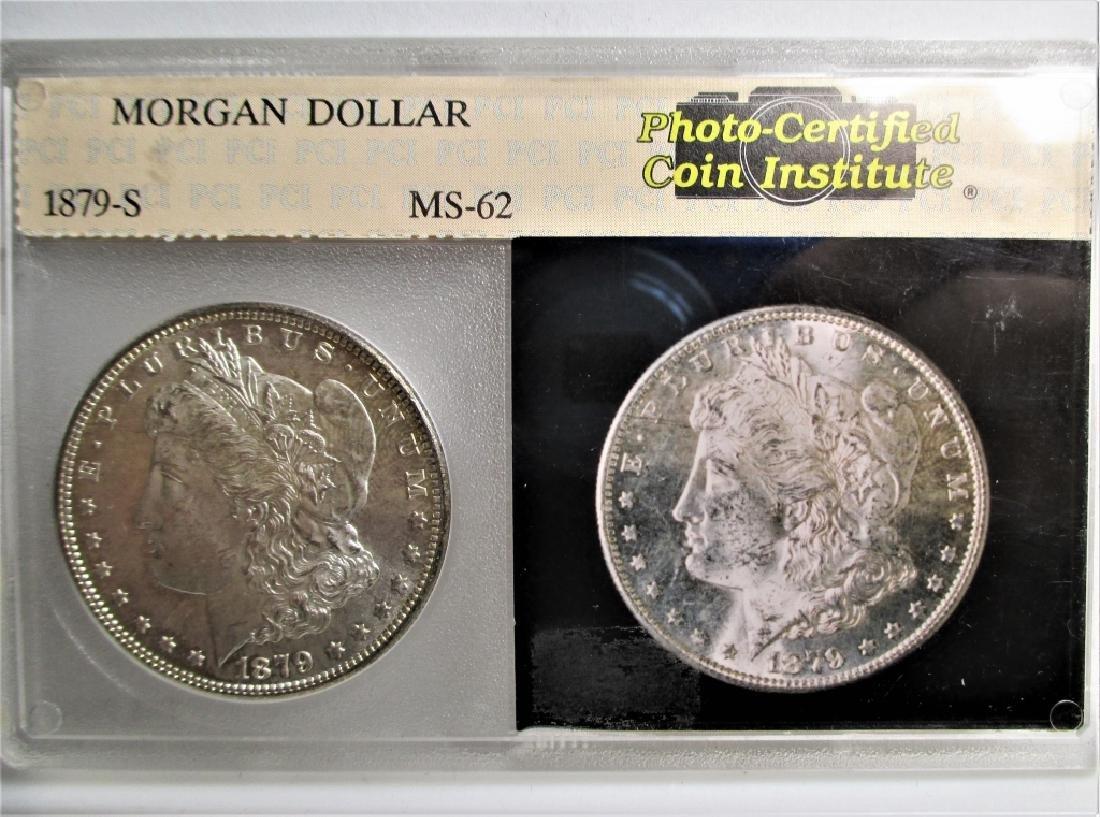 1879 s MS 62 Morgan Silver Dollar