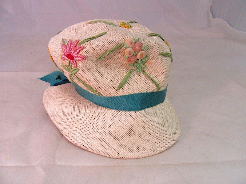 Six Vintage Hats - 6