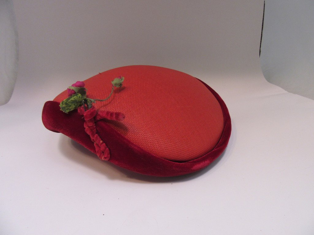 Lot of 5 Vintage Hats in Hat Box - 4