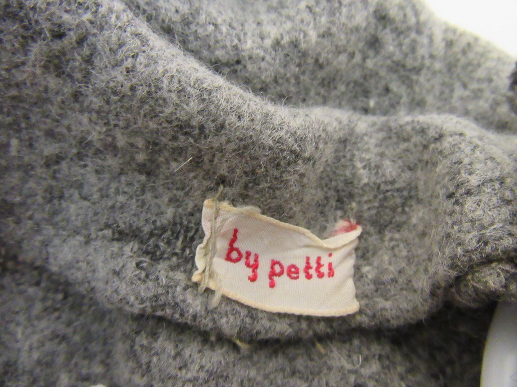 1930's Gray Dress Branded By Petti - 6