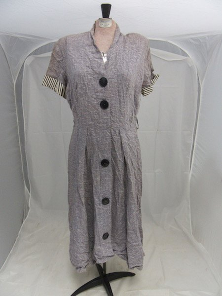1930's/1940's Button Down Day Dress