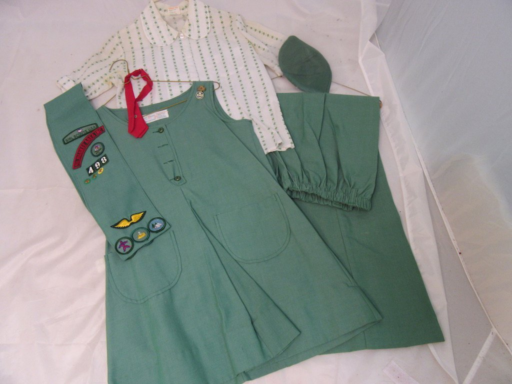 Two 1960s Girl Scout/Brownie Girl Uniforms - 2