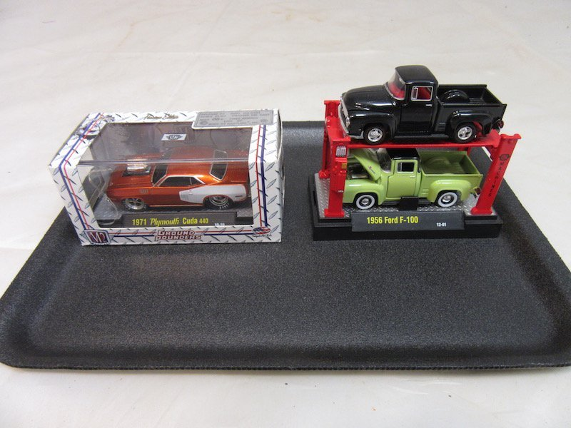 (6) 1/64th Scale M2 Model Cars - 2
