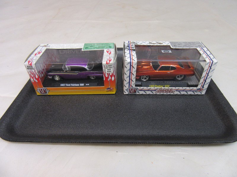 (6) 1/64th Scale M2 Model Cars - 3