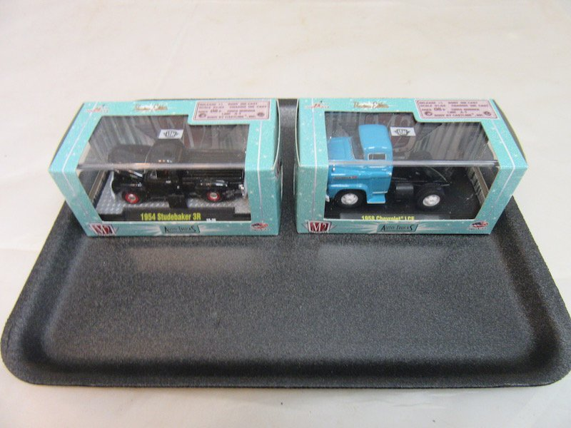 (6) 1/64th Scale M2 Model Cars - 4
