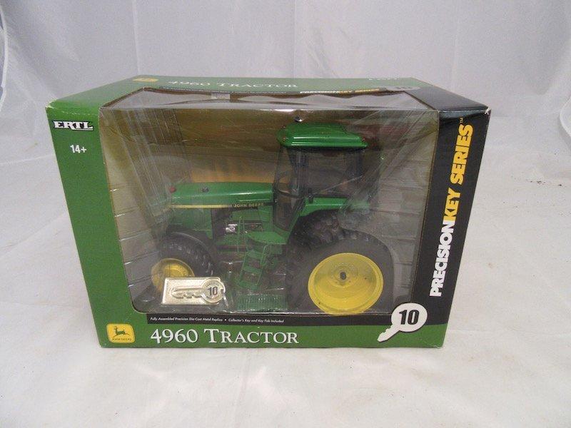 Ertl John Deere Precision Key Series Model 4960 Tractor