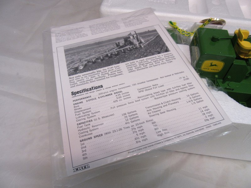 Precision Classics John Deere Model 8020 Tractor - 4