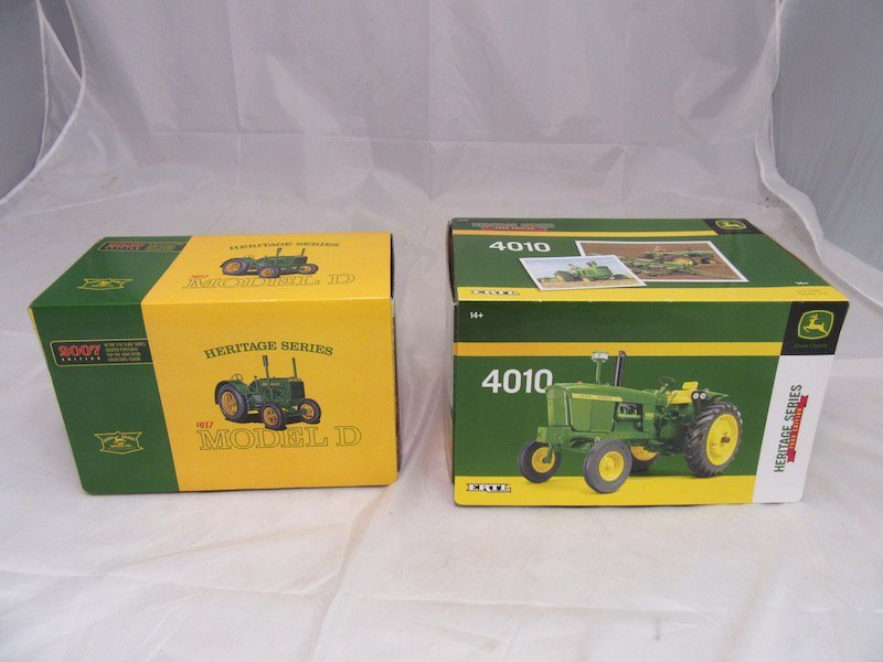 Ertl John Deere Heritage Series 2007 and 2008 Edition