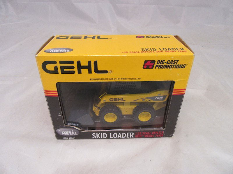 Gehl DieCast Promotions Skid Loader and Ertl Antique - 2