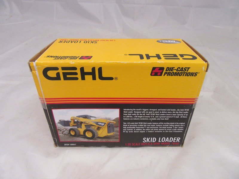 Gehl DieCast Promotions Skid Loader and Ertl Antique - 3