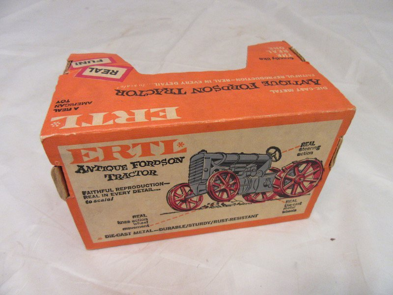 Gehl DieCast Promotions Skid Loader and Ertl Antique - 5