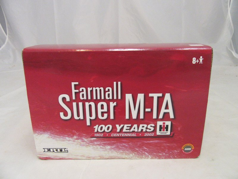 Ertl 100 Years Farmall Super M-TA Tractor