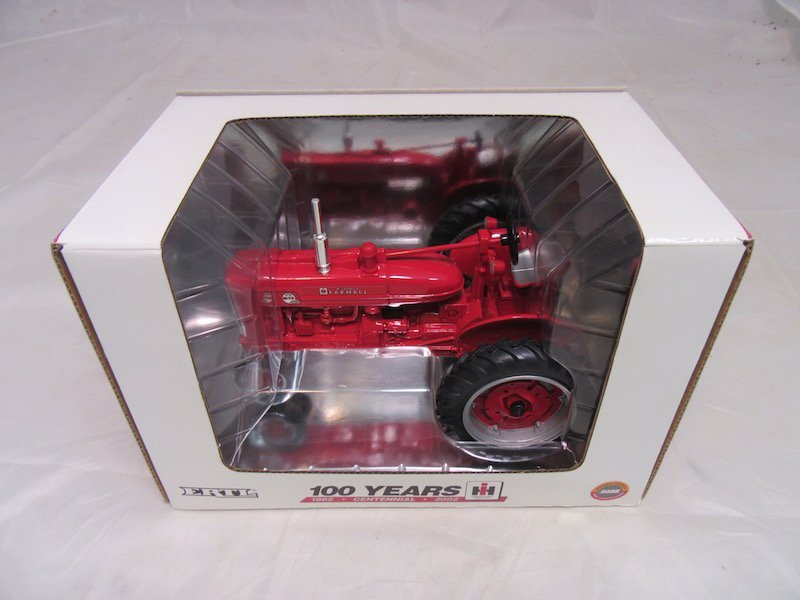 Ertl 100 Years Farmall Super M-TA Tractor - 4