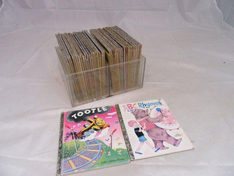 Lot of (42) Little Golden Books