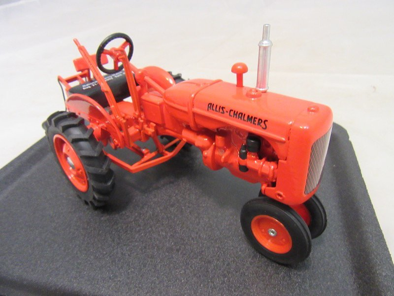 (2) Allis Chalmers Tractors and Cultivator Plow - 3